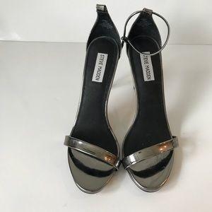 Steve Madden Stecy  Gray heels slingback